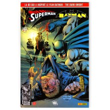 Superman et Batman (Magazine Panini) N° 10 - Comics DC - Edition Collector
