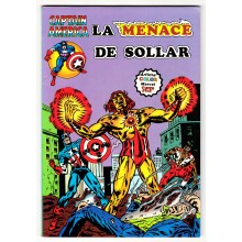Captain America (Arédit - 1° série) N° 14 - La Menace de Solar - Comics Marvel