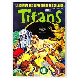Titans N° 21 - Comics Marvel