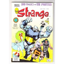 Strange N° 214 + Poster Attaché - Comics Marvel