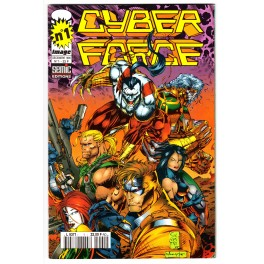 Cyber Force (Semic) N° 1 - Comics Image