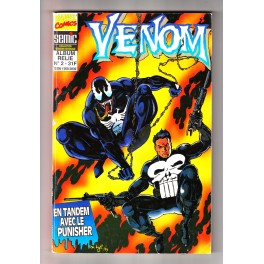 Venom (Semic / Marvel France) Reliure N°2 avec N° 4, 5 et 6 - Comics Marvel