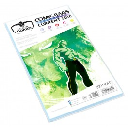 100 Pochettes de Protection Comics Refermables - Ultimate Guard - Current Size