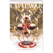 CIVIL WAR N°3 COUVERTURE VARIANT